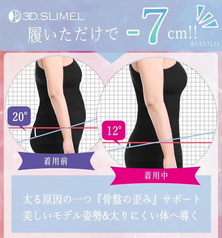 骨盤ガードル3Dスリムエル(3D.SLIMEL)