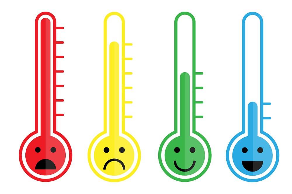 寒暖差の耐性チェック
