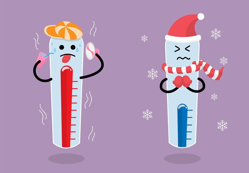 寒暖差による不調にご注意!~寒暖差に負けない体を作ろう~